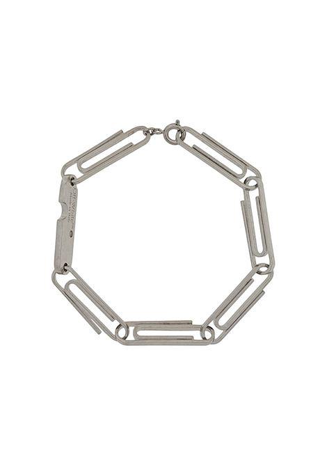 Bracciale argento OFF WHITE | BRACCIALI | OWOA020F20MET0017200