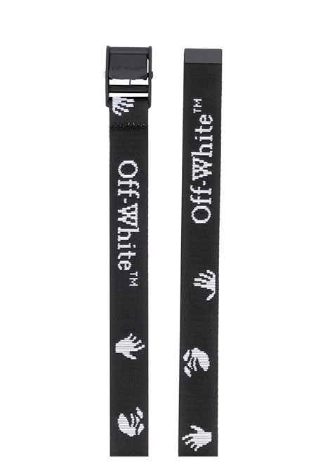 Cintura nera OFF WHITE | CINTURE | OWRB034E20FAB0011001