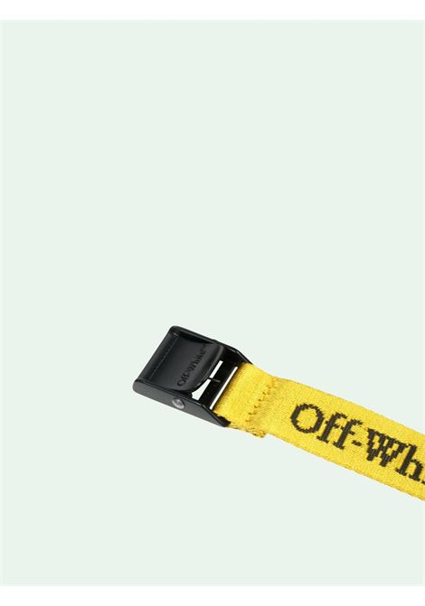 Cintura gialla OFF WHITE | CINTURE | OWRB034E20FAB0011810