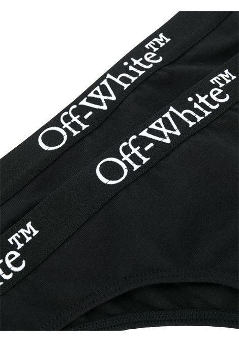 Black thong OFF WHITE |  | OWUA028E20JER0011000