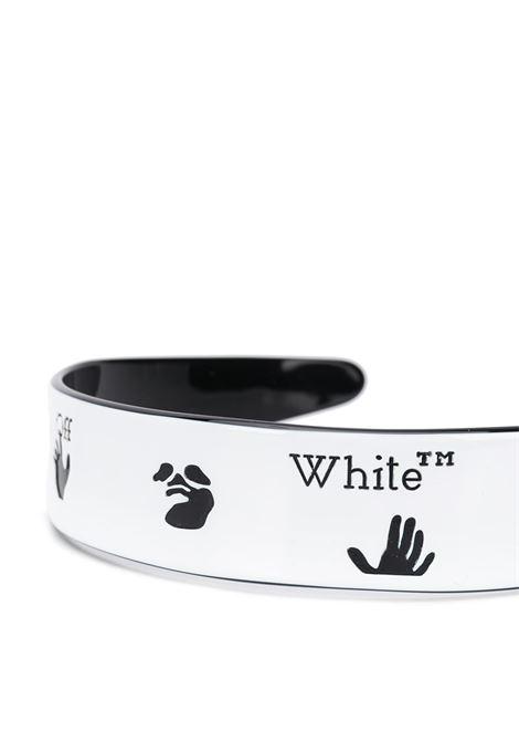 Cerchietto bianco/nero OFF WHITE | ACCESSORI CAPELLI | OWZG028E20PLA0010110