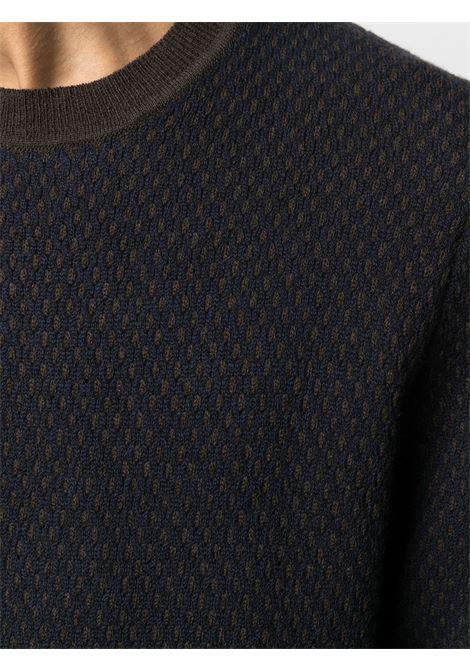 Maglia marrone PAL ZILERI | MAGLIE | R3M0Z300D271846