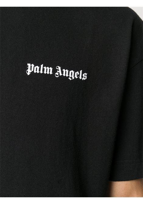 Black t-shirt PALM ANGELS | T-SHIRT | PMAA001E20JER0011020