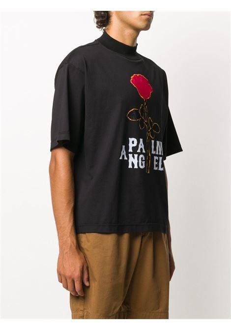 Black t-shirt PALM ANGELS | T-SHIRT | PMAA054E20JER0031025