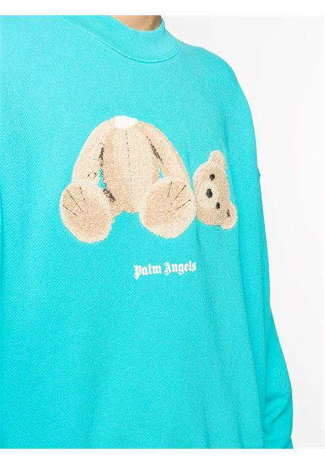 Light blue sweatshirt PALM ANGELS |  | PMBA026E20FLE0034060