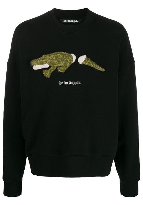 Black sweatshirt PALM ANGELS | SWEATSHIRTS | PMBA026E20FLE0081055
