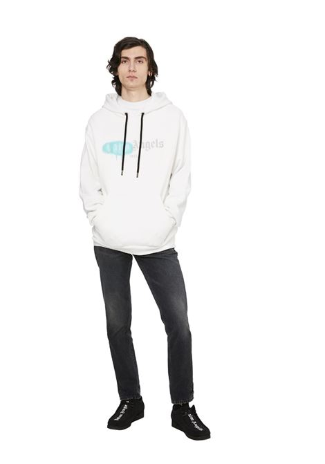 White sweatshirt PALM ANGELS | SWEATSHIRTS | PMBB003F20FLE0020148
