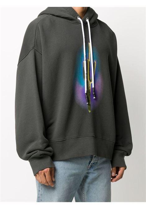 Black sweatshirt PALM ANGELS | SWEATSHIRTS | PMBB058E20FLE0101055