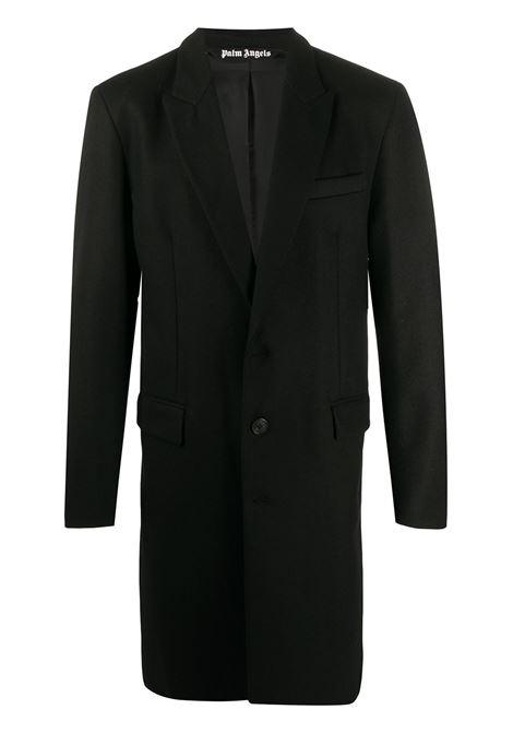 Cappotto nero PALM ANGELS | CAPPOTTI | PMEA083E20FAB0011001