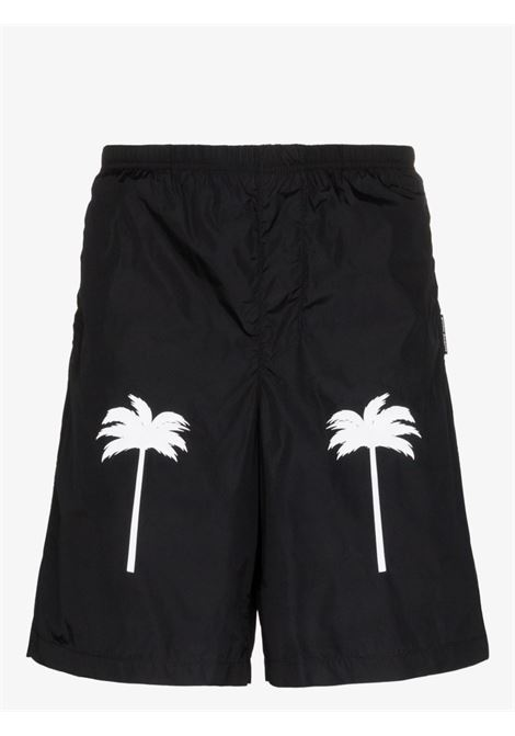 Pantaloncino nero PALM ANGELS | SHORTS | PMFA006E20FAB0011001
