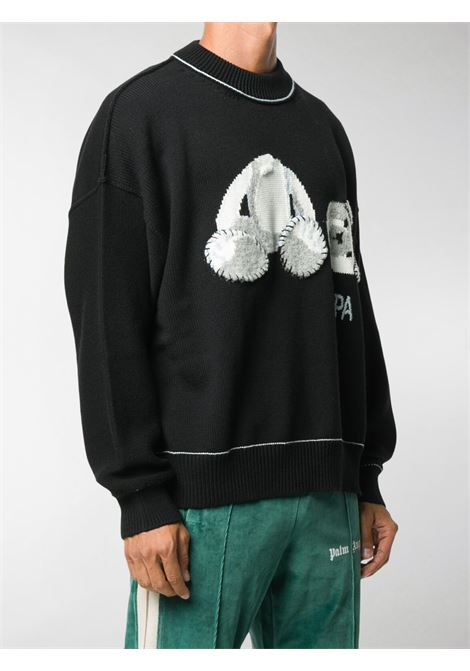 Black jumper PALM ANGELS |  | PMHE007E20KNI0011001