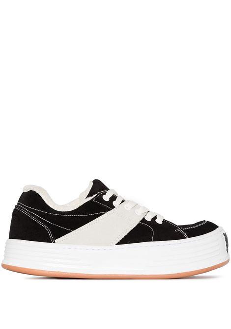 Black sneakers PALM ANGELS | SNEAKERS | PMIA051F20LEA0011001