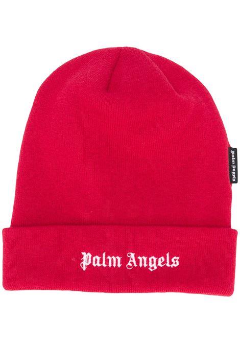 Red beanie PALM ANGELS | CAPS | PMLC012F20KNI0012501