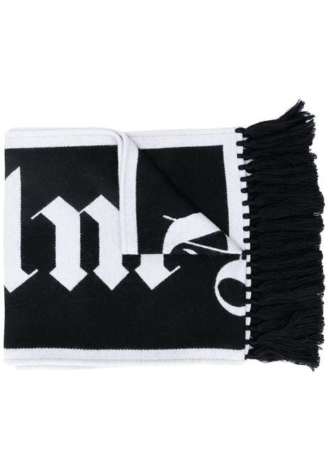 Black/white scarf PALM ANGELS |  | PMMA011E20KNI0011001