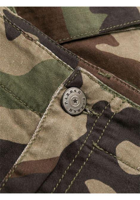 Pantaloncino mimetico P.A.R.O.S.H. | SHORTS | CAMUSD210076807