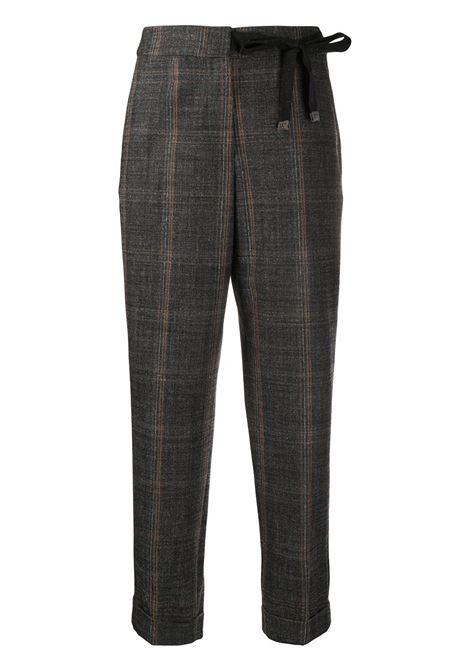 Pantalone a quadri PESERICO | PANTALONI | P0464306512917
