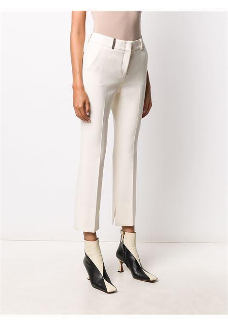 White trousers PESERICO |  | P0473501934041