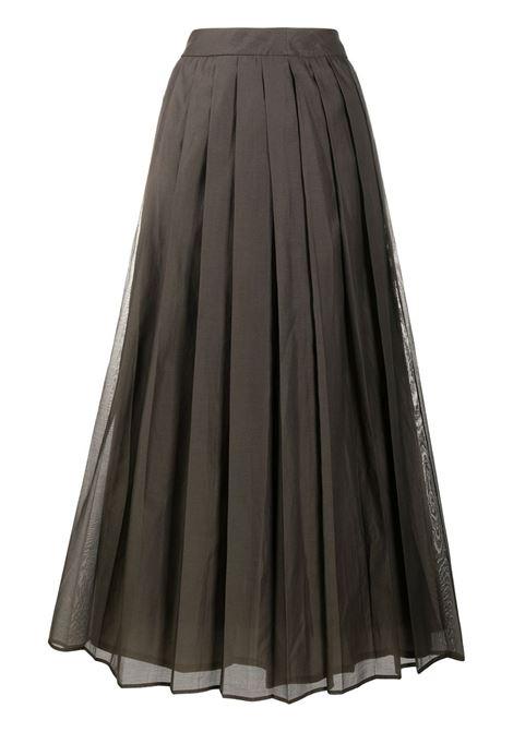 Khaki skirt PESERICO |  | P0520900P08372051