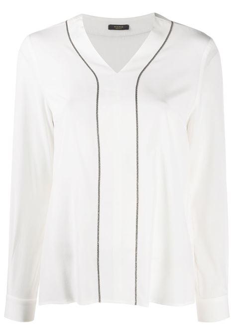 Blusa bianca PESERICO | CAMICIE | S0664307325003