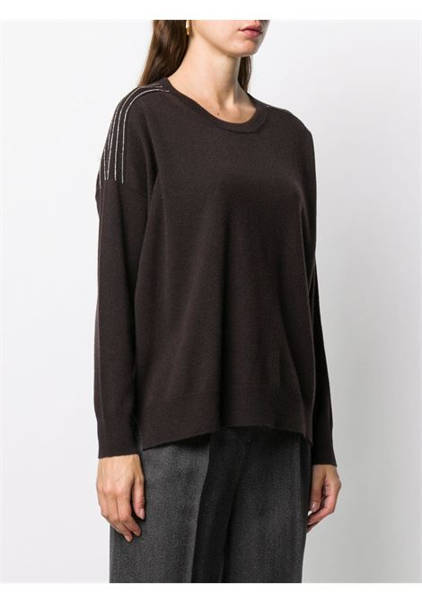 Brown jumper PESERICO |  | S99436F1209018053