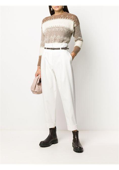 White/beige jumper PESERICO |  | S99944F03J9018J50