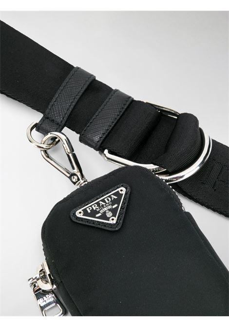 Cintura nera PRADA | CINTURE | 1CN0732DC7F0002