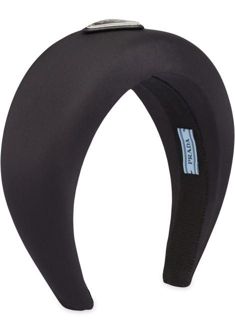 Silk headband (black) PRADA |  | 1IH016074F0002