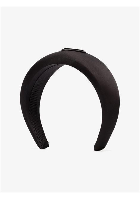Cerchietto in seta (nero) PRADA | CERCHIETTI | 1IH016074F0002