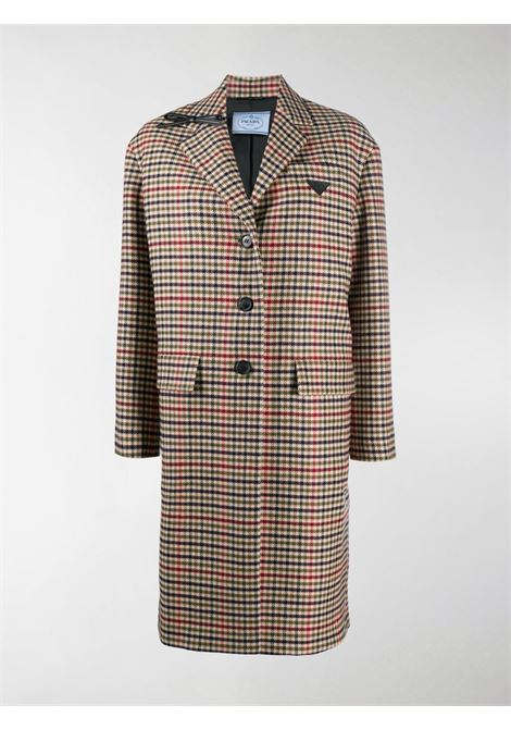 Beige/red coat PRADA |  | P625NES2021XF9F0008