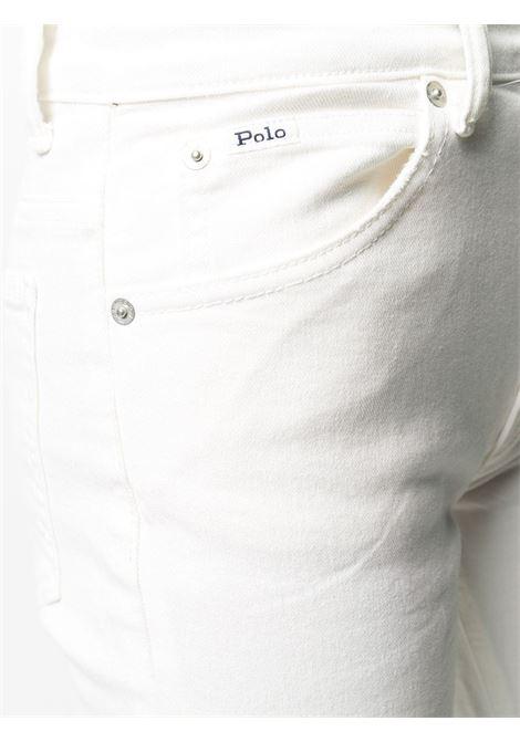 Pantalone bianco RALPH LAUREN | JEANS | 211777206001