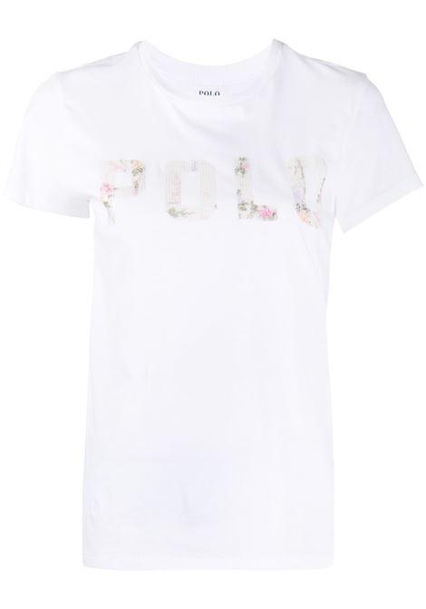T-shirt bianca RALPH LAUREN | T-SHIRT | 211800352001