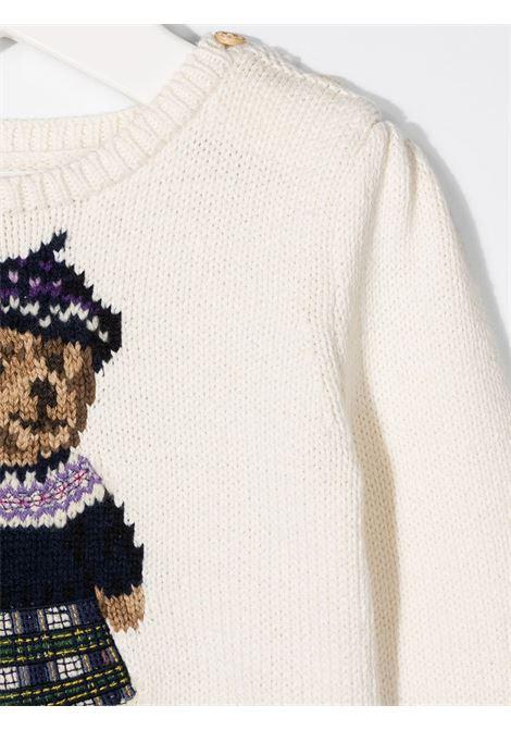 White jumper POLO RALPH LAUREN | SWEATER | 310799956001