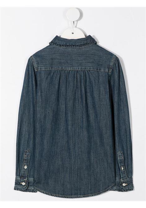 Camicia blu RALPH LAUREN | CAMICIE | 311698854001