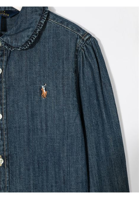 Camicia blu POLO RALPH LAUREN | CAMICIE | 311698854001