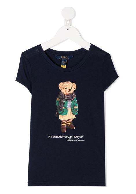 T-shirt blu RALPH LAUREN | T-SHIRT | 311799106002