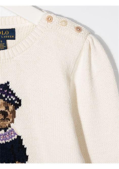 Maglione bianco RALPH LAUREN | MAGLIONE | 311799956001