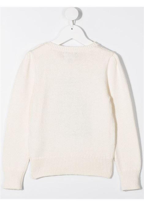 Maglione bianco POLO RALPH LAUREN | MAGLIONE | 311799956001