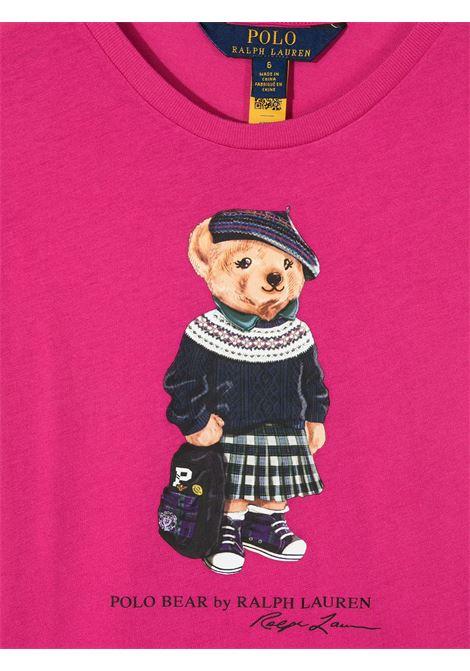 T-shirt rosa RALPH LAUREN | T-SHIRT | 311802624002