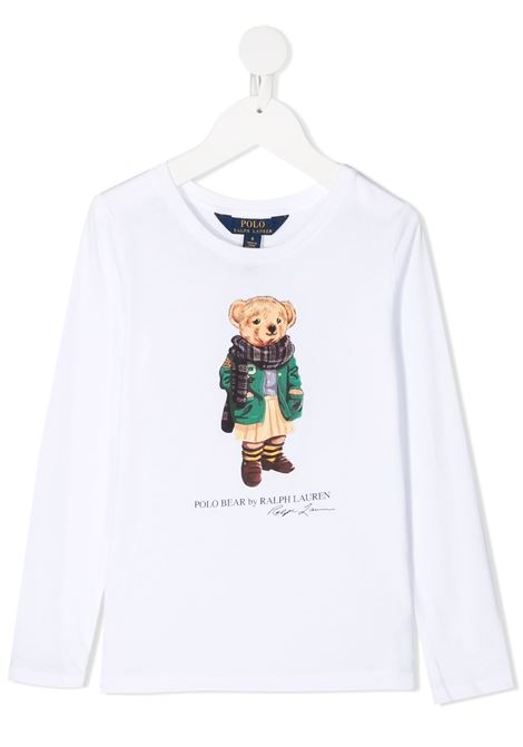 T-shirtbianca POLO RALPH LAUREN | MAGLIE | 311809578001