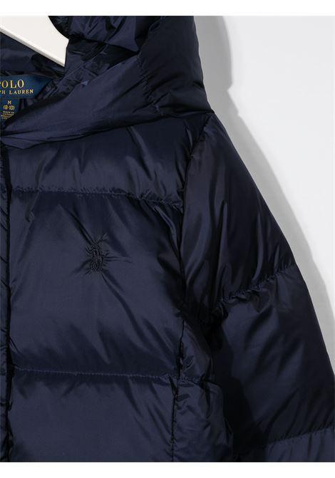Cappotto blu RALPH LAUREN | CAPPOTTI | 313795699001