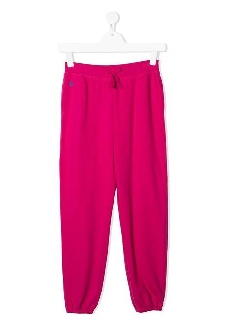 Pantalone rosa POLO RALPH LAUREN | PANTALONI | 313798250001