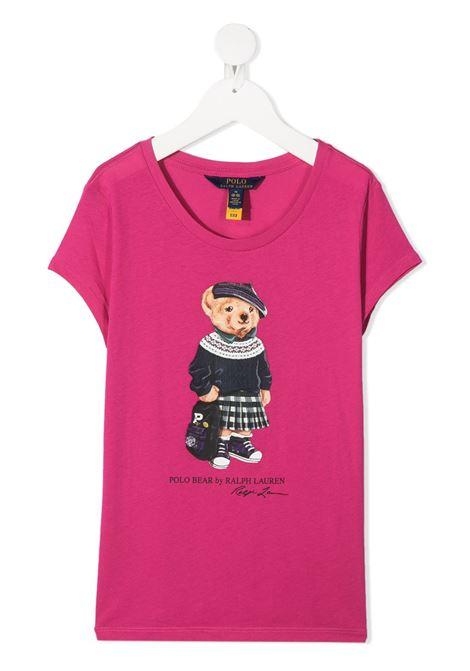 T-shirt rosa POLO RALPH LAUREN | T-SHIRT | 313802624002
