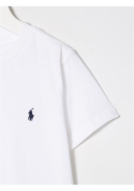 T-shirt bianca RALPH LAUREN | T-SHIRT | 321674984002