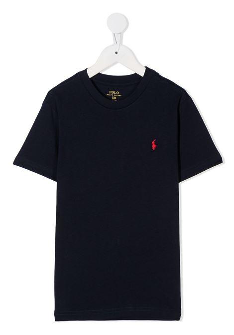 T-shirt blu RALPH LAUREN | T-SHIRT | 321674984003