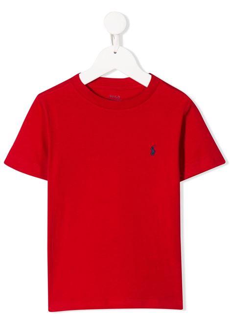 T-shirt rossa RALPH LAUREN | T-SHIRT | 321674984004