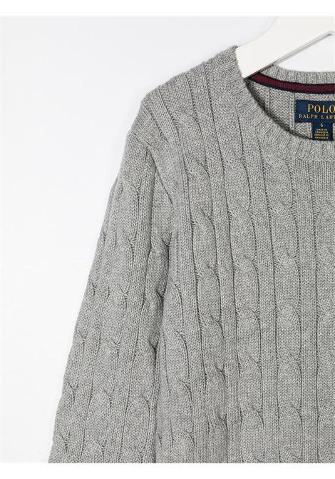 Maglione grigio RALPH LAUREN | MAGLIONE | 321702674010