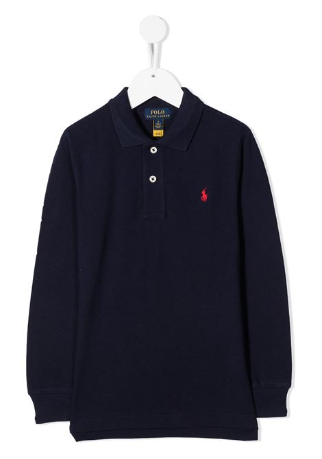 Polo blu RALPH LAUREN | T-SHIRT | 321703634032