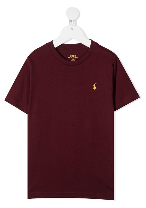 T-shirt rossa POLO RALPH LAUREN | T-SHIRT | 321703638036