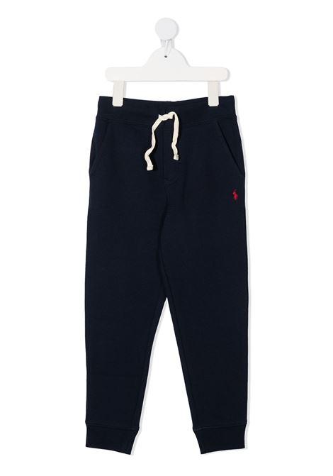 Pantalone blu POLO RALPH LAUREN KIDS | PANTALONI | 321720897003