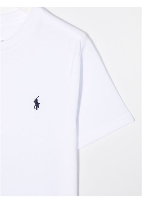 T-shirt bianca POLO RALPH LAUREN KIDS | T-SHIRT | 323674984002